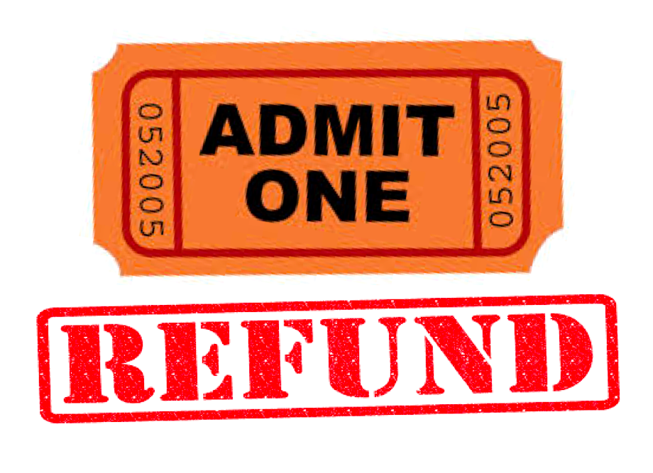 Football Playoff Game Ticket Refund Information