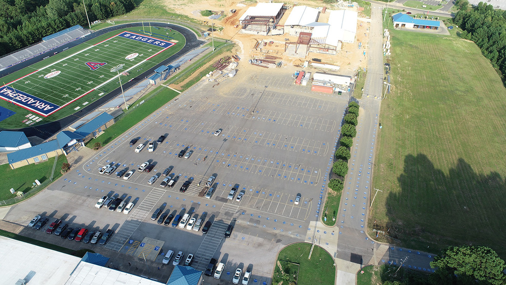 AHS Announces Parking Details for Badger Football Games
