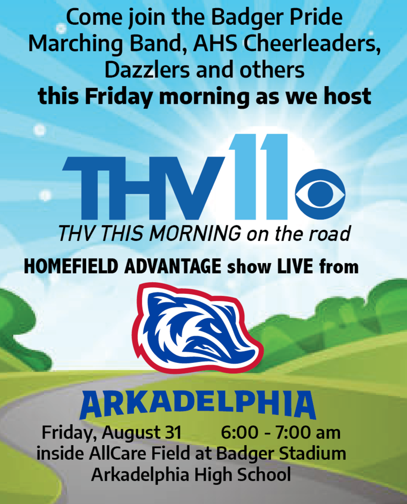 """THV This Morning"" Coming to Arkadelphia This Friday"