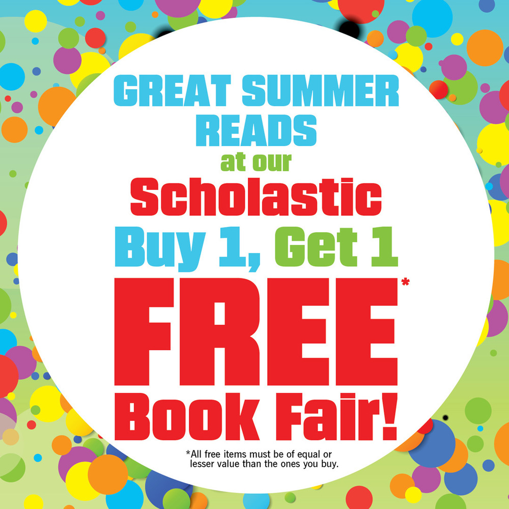 BOGO Book Fair and New eWallet