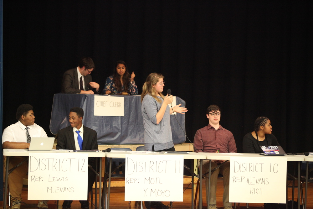AHS Debate Team Holds Badger Congress