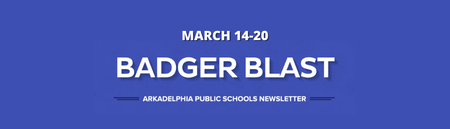 APSD Badger Blast: March 14-20