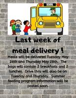 Last Week of Meal Delivery
