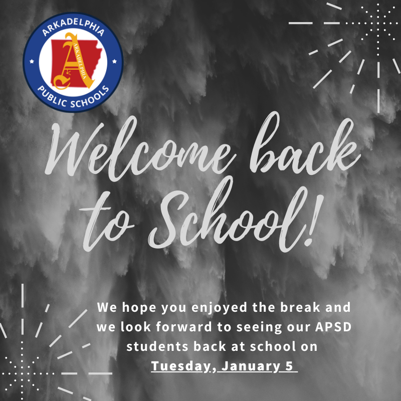 Spring semester for APSD students starts Tuesday, January 5