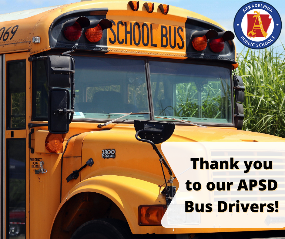 Thank you to our bus drivers