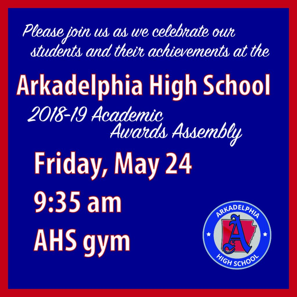 AHS Academic Awards Assembly