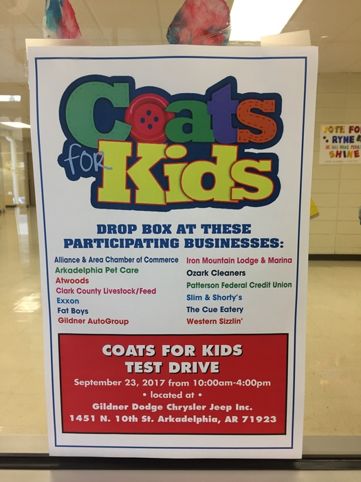 Coats for Kids Flyer