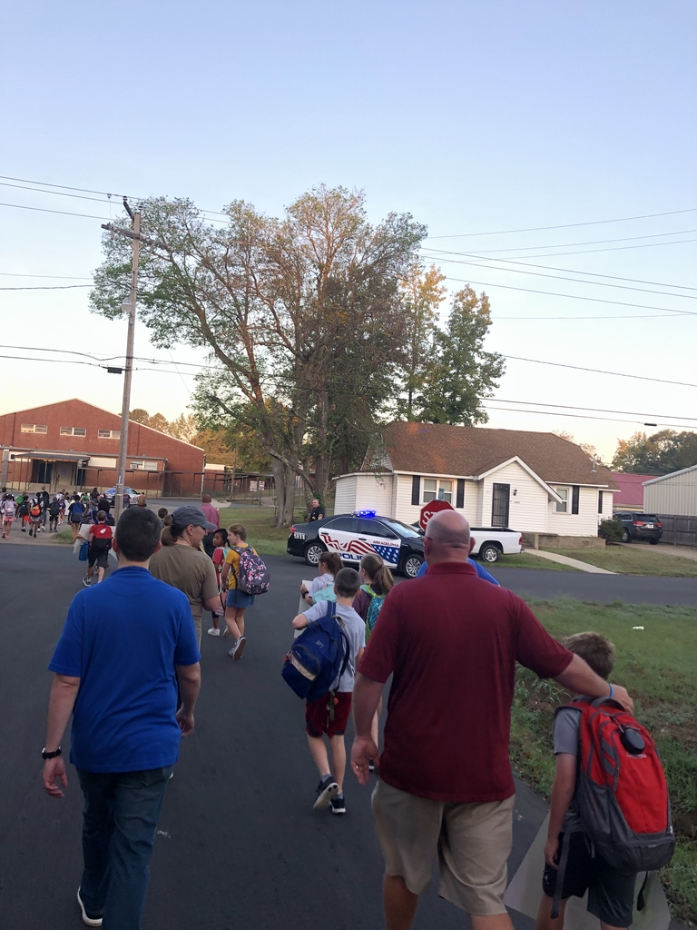 Walk to school day 2019