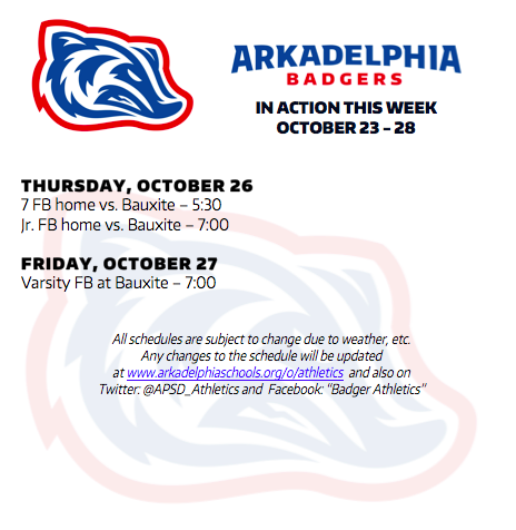 This Week in APSD Athletics