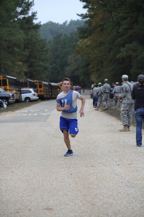 Arkadelphia Junior ROTC students competing in Raider Challenge