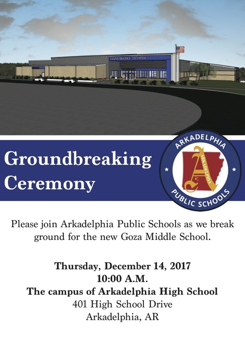 Groundbreaking Ceremony invitation