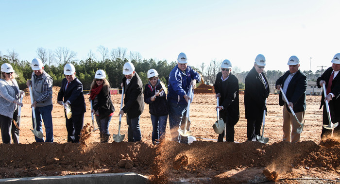 administration breaking ground