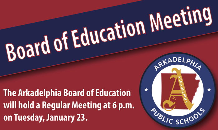 Board Meeting Flyer - January 23