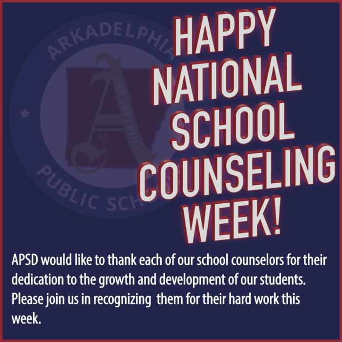 National School Counseling Week Flyer