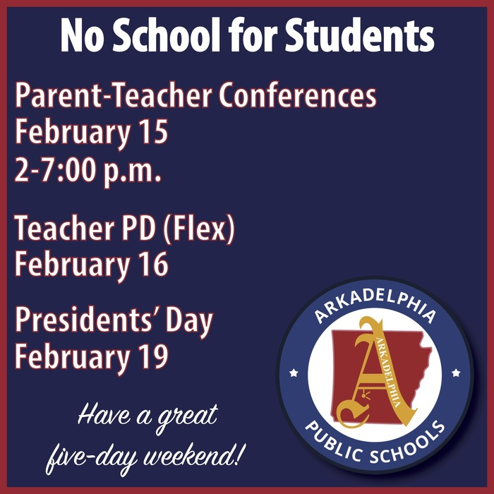 parent-teacher conferences flyer