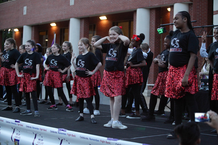 CS Dancers performing at Relay for Life