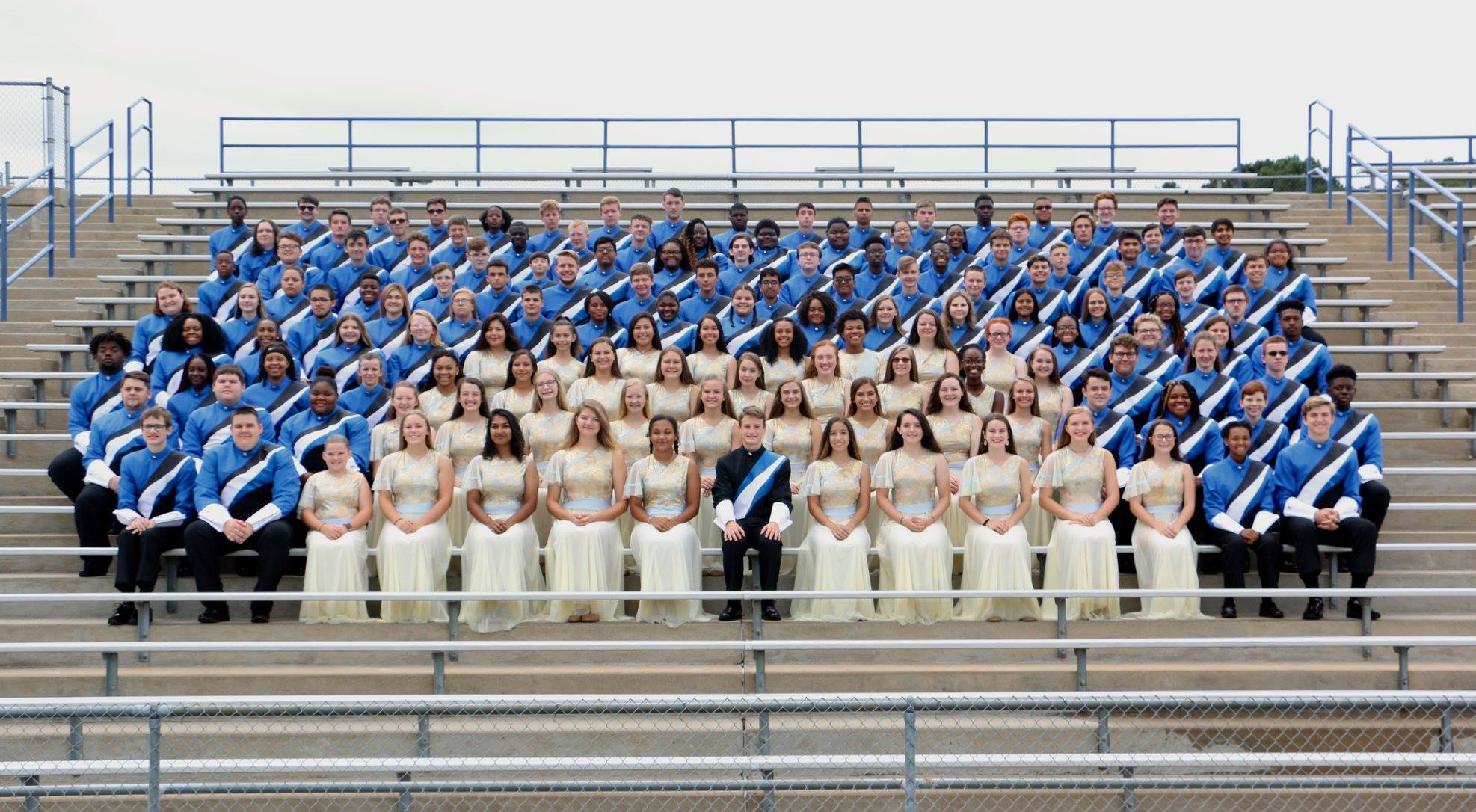 Defending Four-time AAAA Band Champions