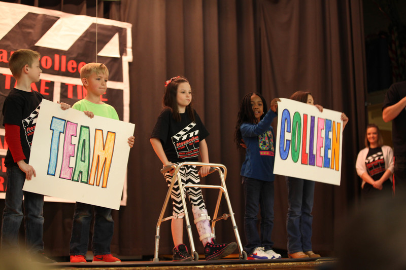 Central Primary raises money for Relay for Life in honor of current student