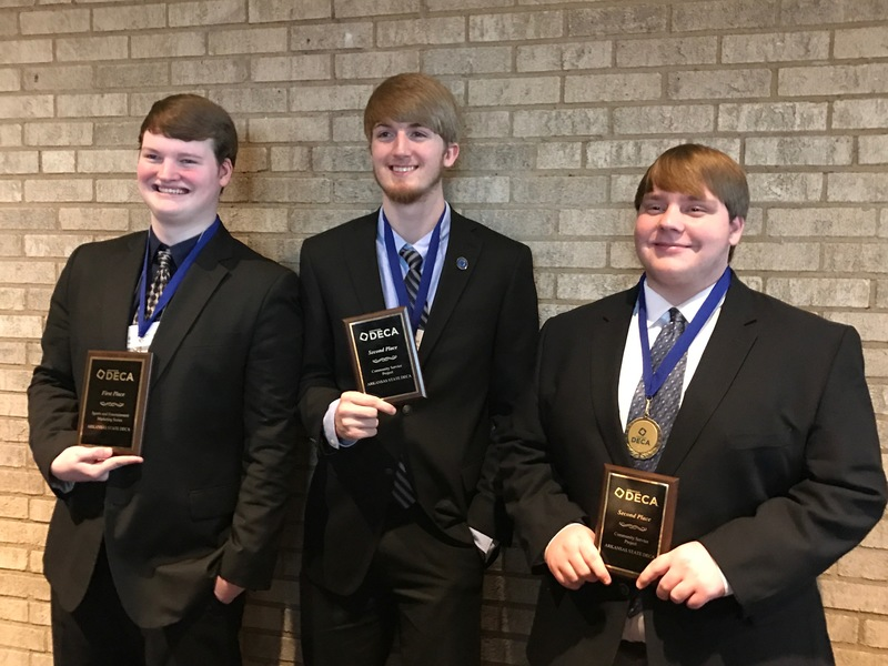 AHS students place in 2017 DECA State Career Development Conference