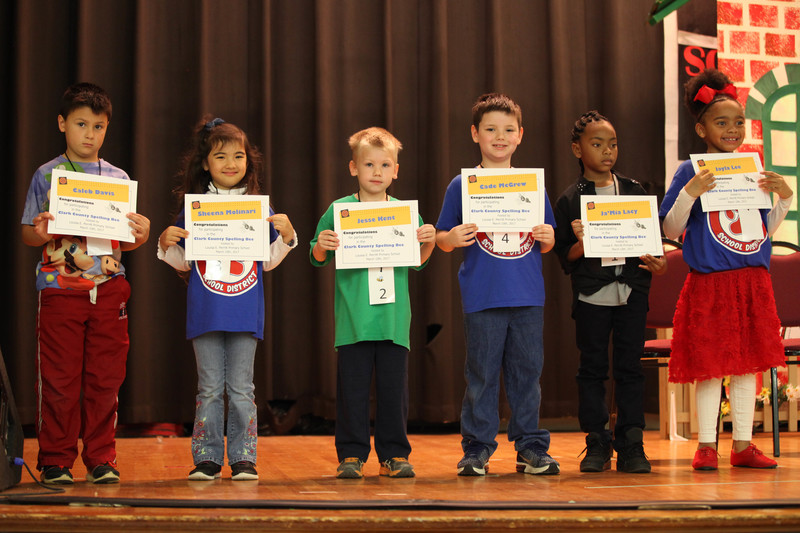 Perritt students compete in Clark County Spelling Bee