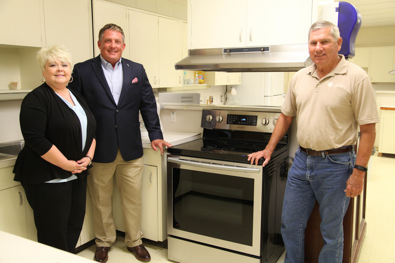 South Central Arkansas Electric Cooperative donates stoves to AHS