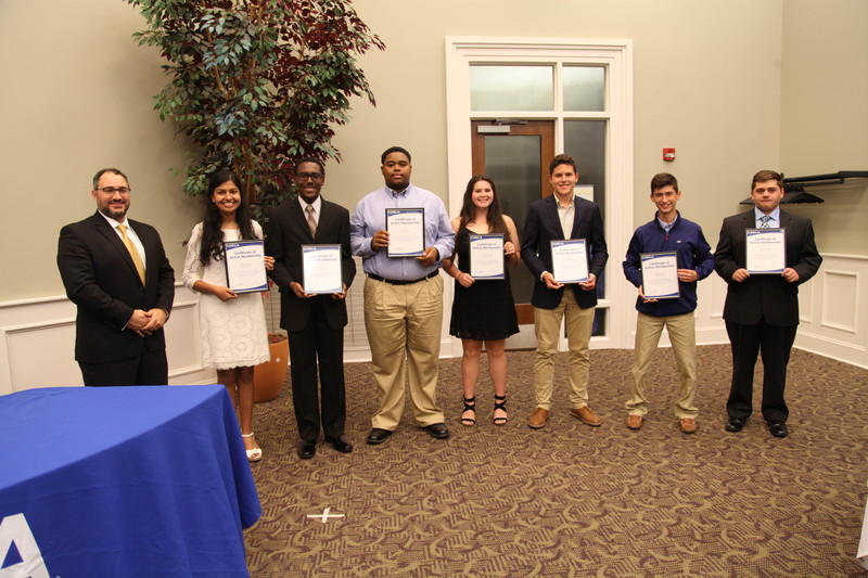AHS DECA Chapter holds annual Officer Induction Ceremony