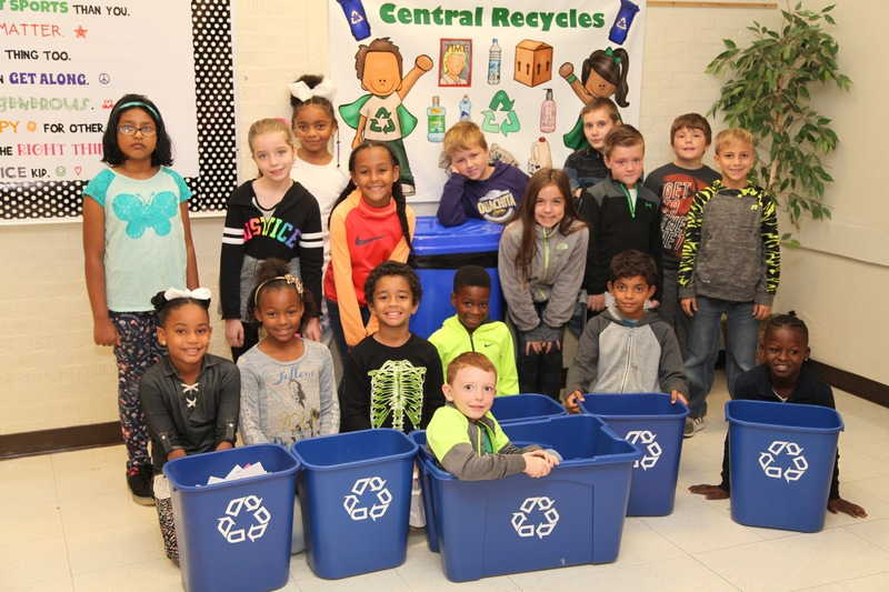 Grant Enables Central to Expand Recycling Program
