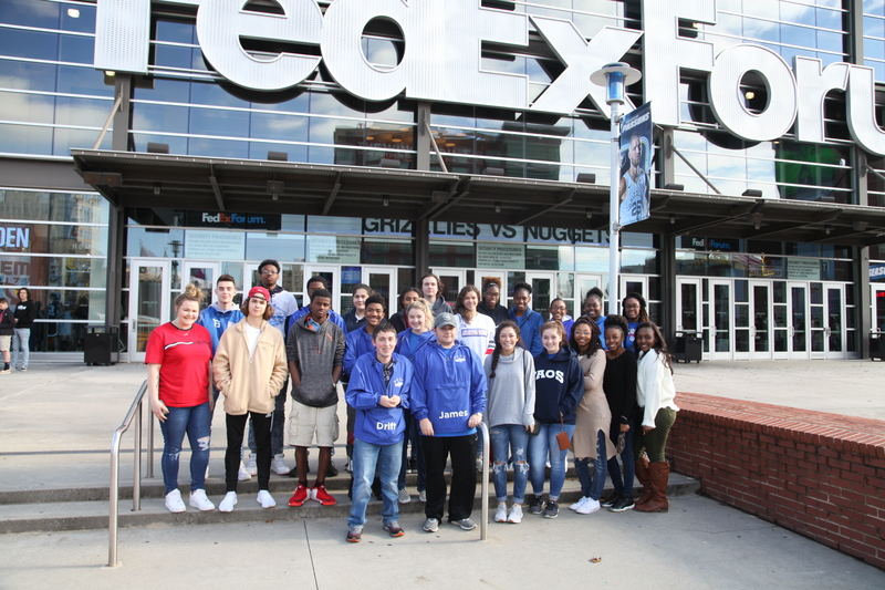AHS DECA Students participate in Memphis Grizzlies Pro Sports Career Day