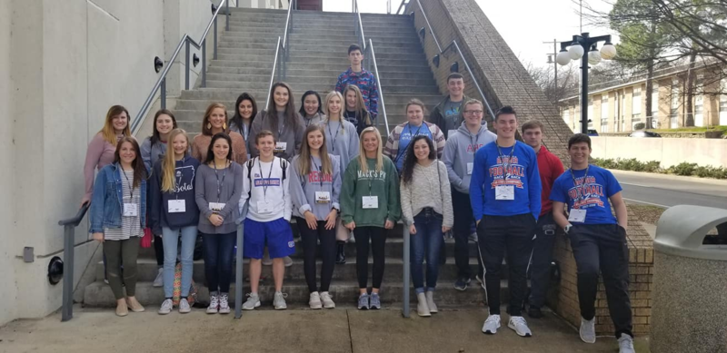 AHS Beta Club Attends State Conference; Goodrum's Video Qualifies for National Conference